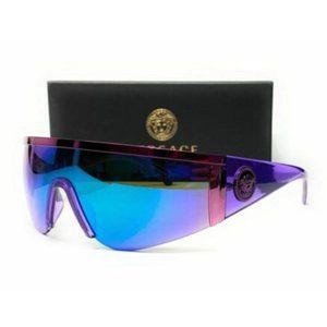 Versace Men's Violet Green Blue Sunglasses!
